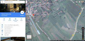 smestaj google mape