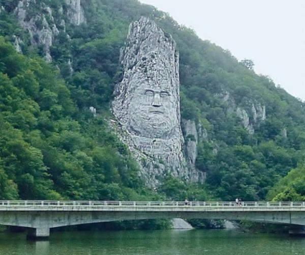 lice dačkog kralja Decebala